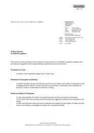 Brief Bremen GmbH, deutsch - Saacke.com