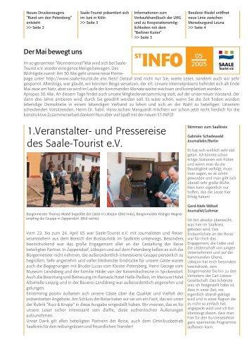 ST-INFO 05/2005 - Förderverein Region Halle (Saale)