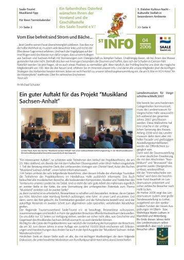 ST-INFO 04/2006 - Förderverein Region Halle (Saale)