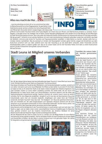 ST-INFO 05/2007 - Förderverein Region Halle (Saale)