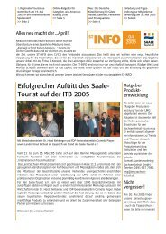 ST-INFO 04/2005 - Förderverein Region Halle (Saale)