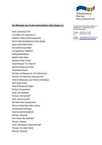 Kopie von Die Mitglieder des Fördervereins Region Halle _Saale_ eV