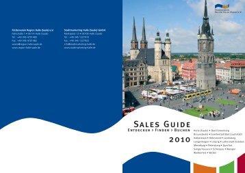 Umschlag Sales Guide 2010 - Förderverein Region Halle (Saale)