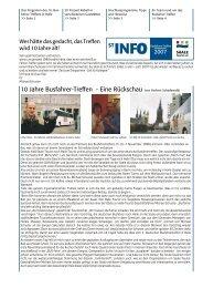 Programm zum 10. Busfahrer-Treffen 2007 - Förderverein Region ...