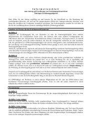 Infoblatt zum Antrag auf Gewährung v. Erziehungsgeld n. d. ...