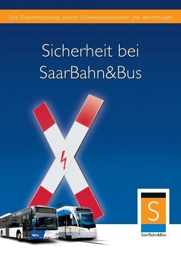 Handbuch Sicherheit - Saarbahn GmbH