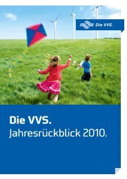 Jahresrückblick 2010 - Versorgungs- und Verkehrsgesellschaft ...