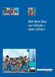 Mit dem Bus zur Schule – aber sicher! - Saarland