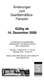 Fahrplan Gültig ab 14. Dezember 2008 - Landeshauptstadt ...
