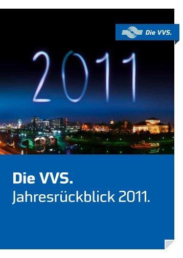 Die VVS. Jahresrückblick 2011. - Stadtwerke Saarbrücken