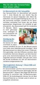 Flyer SeniorenTicket 2014 - Saarbahn GmbH - Page 3