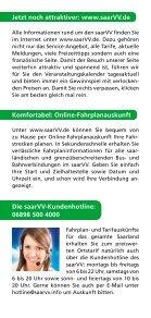 Flyer SeniorenTicket 2014 - Saarbahn GmbH - Page 4