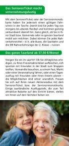 Flyer SeniorenTicket 2014 - Saarbahn GmbH - Page 5