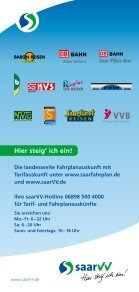 Tarif - Saarbahn GmbH - Page 2