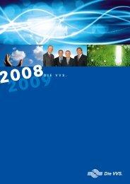 Geschäftsbericht 2009/2008 - Versorgungs- und ...