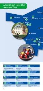 Unterwegs mit dem saarVV - Saarbahn GmbH - Page 4