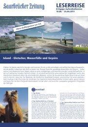 SZ Island11.indd - Saarbrücker Zeitung