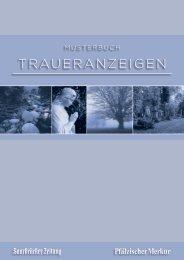 TRAUERANZEIGEN - Saarbrücker Zeitung