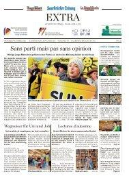 Extra - Nummer 33 (Oktober 2013) - Saarbrücker Zeitung