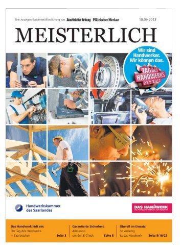 Meisterlich - Saarbrücker Zeitung