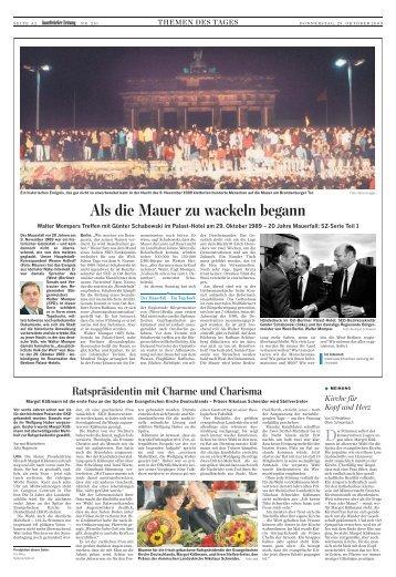 themen des tages - Saarbrücker Zeitung