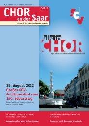 A CAppELLA LEIpzIG 2011 - Saarländischer Chorverband