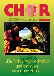"""Chor an der Saar"" 6/2002 - Saarländischer Chorverband"