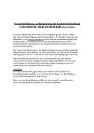 Verzichtserklärung zur Reduzierung des ... - Saarlouis