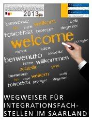 Migrations- und Integrationsfachdienste im Saarland (PDF, 1,59 MB )