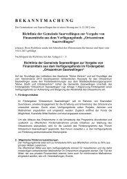 Richtlinie der Gemeinde Saarwellingen zur Vergabe von ...