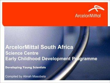 Early Childhood Development Programme - Alinah ... - Saastec