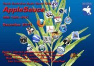 AppleSauce, December 2011 - South Australian Apple Users' Club