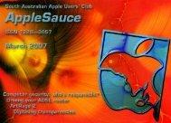 Mar - South Australian Apple Users' Club
