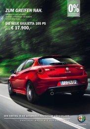 jetzt ab € 17.900,- ZUM GREIFEN NAH. - Alfa  Romeo