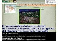 El consumo alimentario en la ciudad de Caracas - Saber ULA ...
