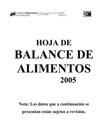 HOJA DE 2005 - Saber ULA - Universidad de Los Andes
