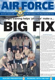 Top-flight training helps 'pit crew' make a...