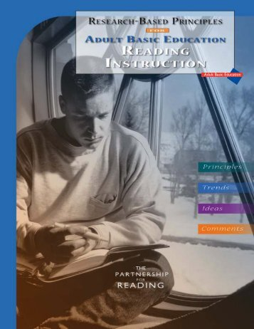 Adult education reading instruction - SABES
