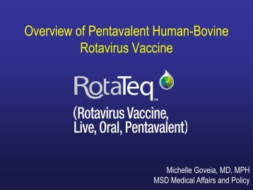 Michelle Goveia - Sabin Vaccine Institute