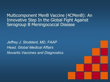 Jeffrey Stoddard - Sabin Vaccine Institute