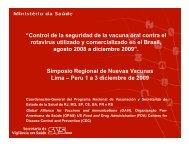 Resultado preliminar - Sabin Vaccine Institute