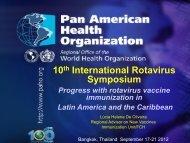 RV introcuction in the Americas - Sabin Vaccine Institute
