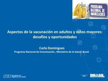 Aspectos de la vacunación en adultos y niños mayores: desafíos y ...