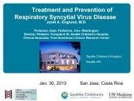 Janet Englund - Sabin Vaccine Institute