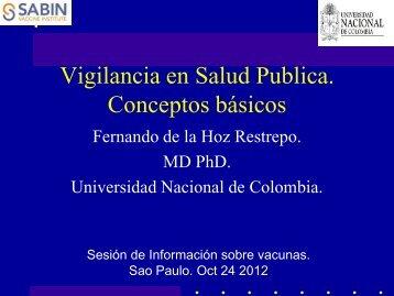 Fernando de la Hoz Restrepo - Sabin Vaccine Institute