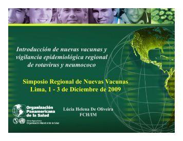 Introducción de nuevas vacunas y vigilancia epidemiológica ...