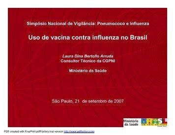 Laura Dina Bertollo Arruda - Sabin Vaccine Institute
