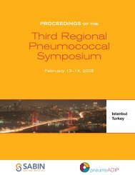 3rd Pneumococcal Symposium web - Sabin Vaccine Institute