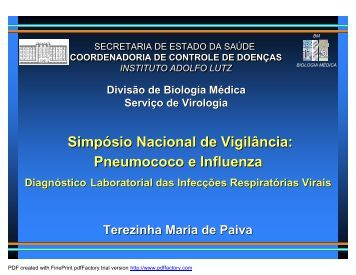 Terezinha Paiva - Sabin Vaccine Institute