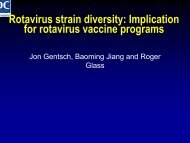 Jon Gentsch - Sabin Vaccine Institute